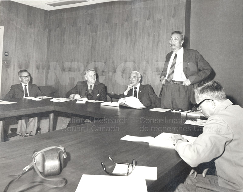 Visit to Canada of a Delegation from the Chinese Academy of Sciences April 28-May 11 1983 006