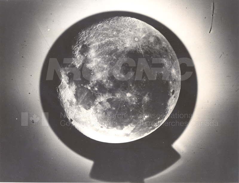 Photo of the Moon- Dominion Observatory- Markowitz Moon Camera 002