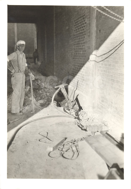 Replacing Cable- Sept. 27 1938, Oct. 5 1938 011