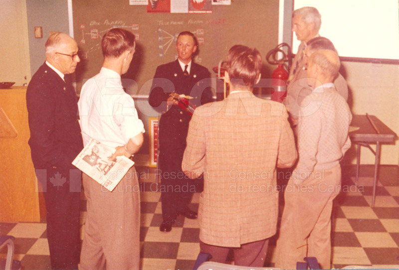 Fire Prevention Section Activities (Mr. Luke) 1950s+60s 001