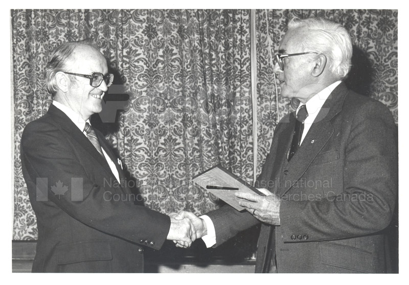 25 Year Service Plaques Presentations 1981 012