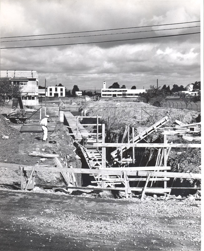 Administration Building Construction 1950s 020