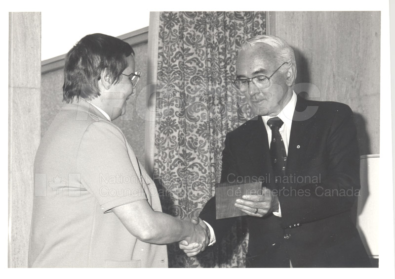 25 Year Service Plaque Presentations May 1985 011