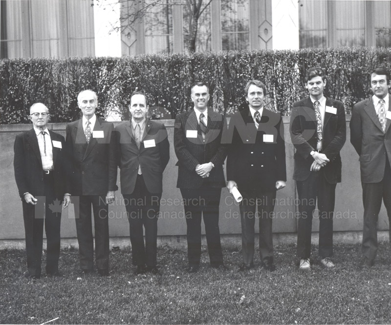 The Meteoritical Society Presidents Nov. 16-18 1972