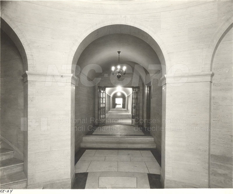 100 Sussex Drive- Lower Level Corridor (KK-24) 1932