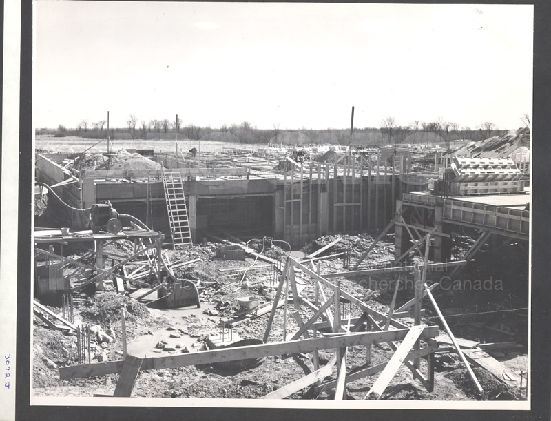 Administration Building Construction 1950s 010