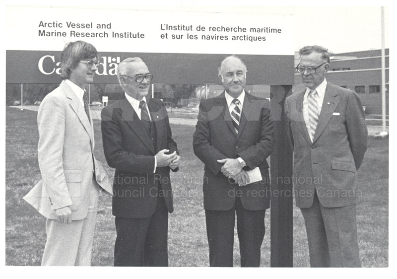 Sod Breaking- Arctic Vessel and Marine Research 1981