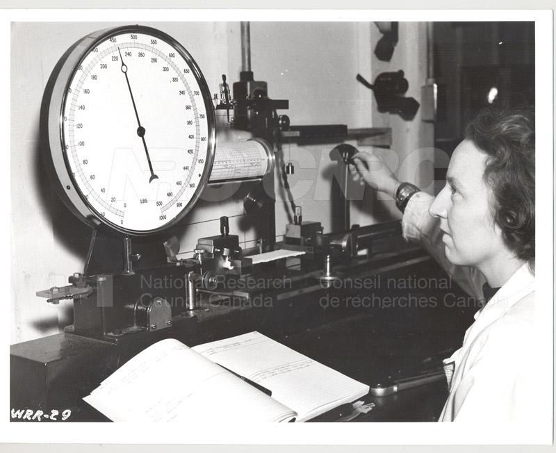 Testing Tensile Strength c.1940