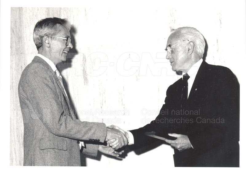 25 Year Service Presentations June 8, 1988 023