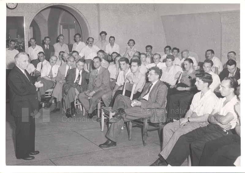 Retirement of Dr. Boyle 1949 002