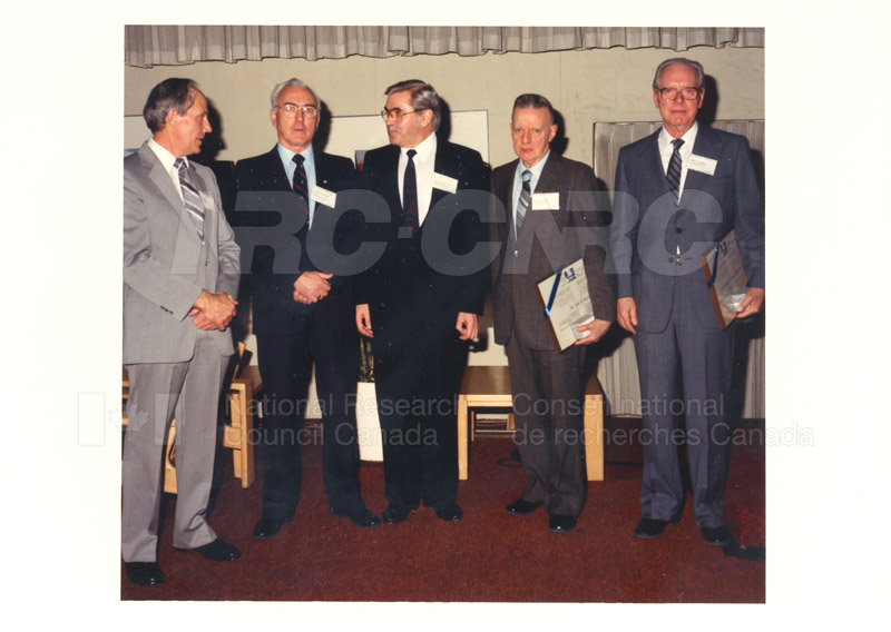 Researcher Emeritus Council Meeting Feb.3 '88 003