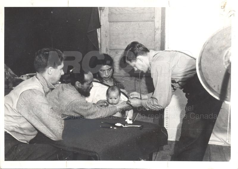 Southhampton Island Blood Sample c.1947