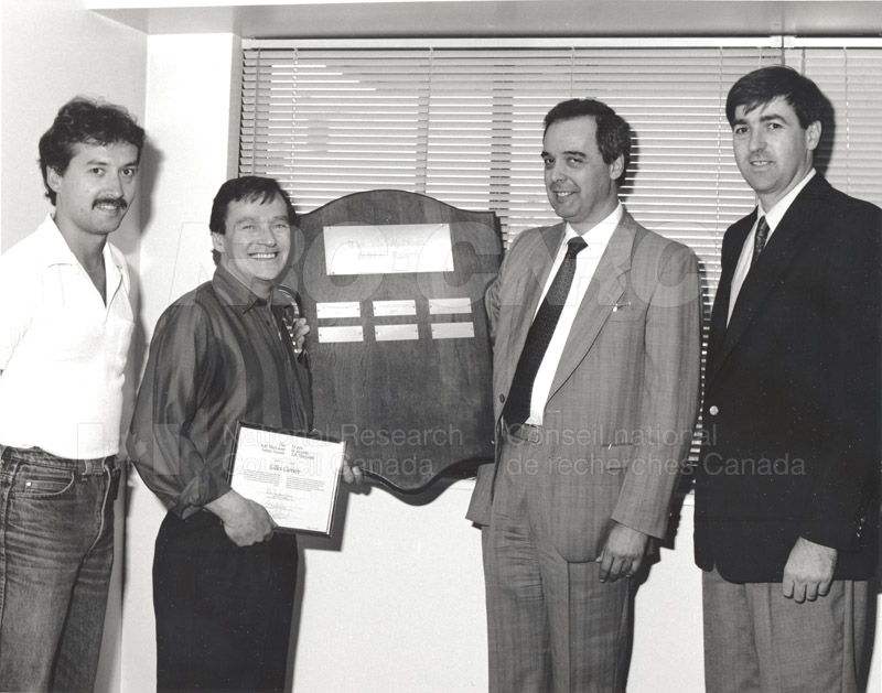 Ab. McLaren Safety Award - 1990