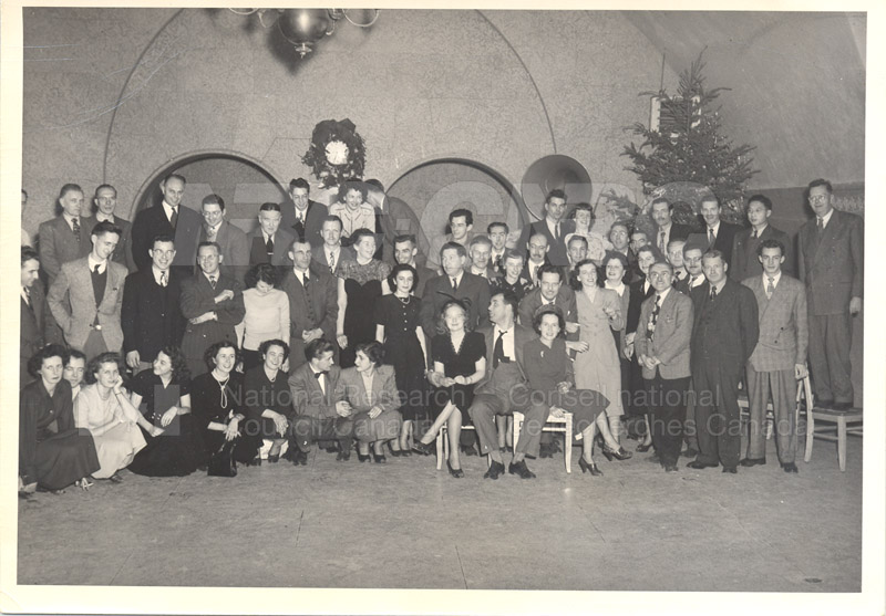 Staff Christmas Party c.1950 001