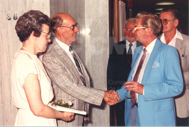 Alf Tickner Retirement May 1986 013