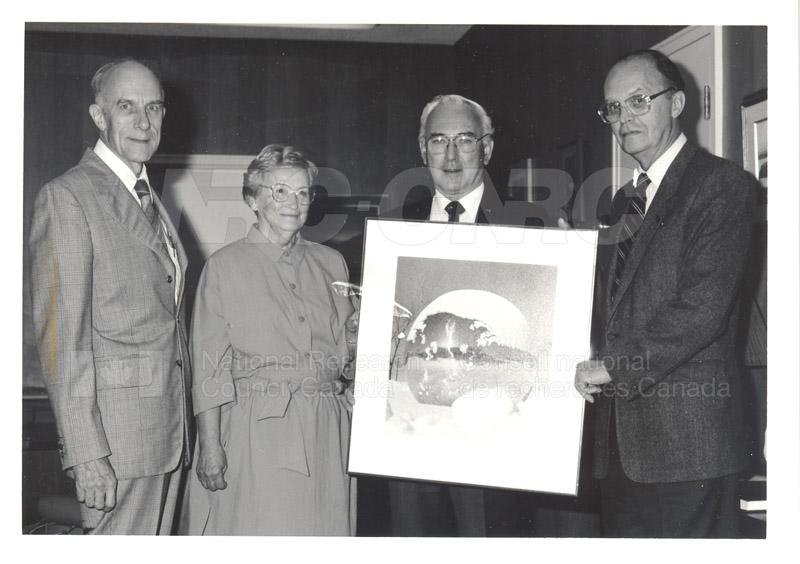 40 Year Dr. P.A. Redhead Sept. 2, 1987 002