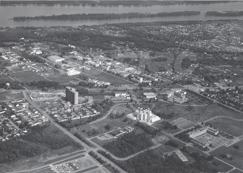 Aerial View- Montreal Rd. Campus 60's-70's 001