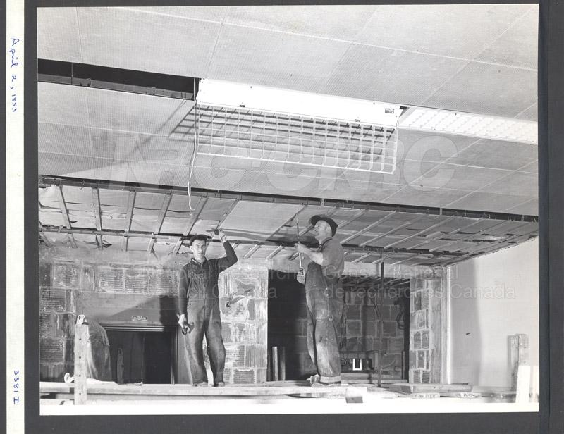 Construction of M-50 April 2 1953 #3381 006