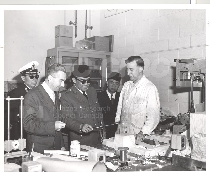 Pres. Sukarno (of Indonesia) visits NRC June 4 1956 001