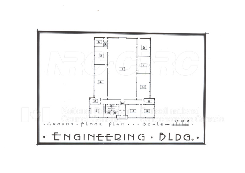Buildings- Floor Plans Sept. 1948 013