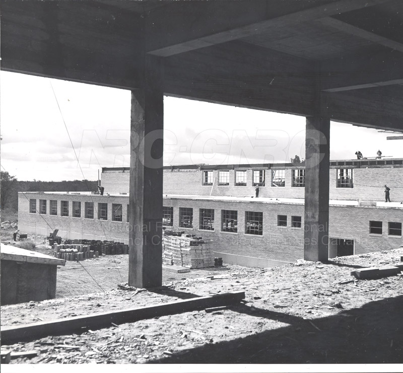 Administration Building Construction 1950s 021