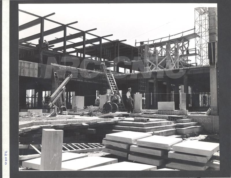 Construction of M-50 Summer 1952 #3205 004
