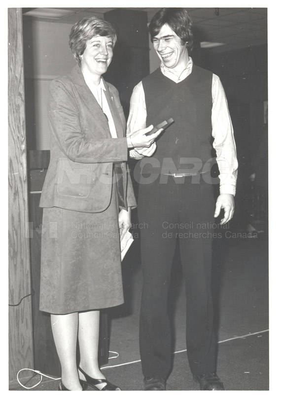 NRC Staff Club December 1980 E. Sloot, President, L. Fletcher, Vice-President