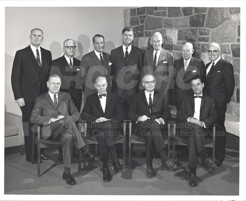 Canadian Patents & Development LMT Board of Directors June 1967, Jan. 1968 004
