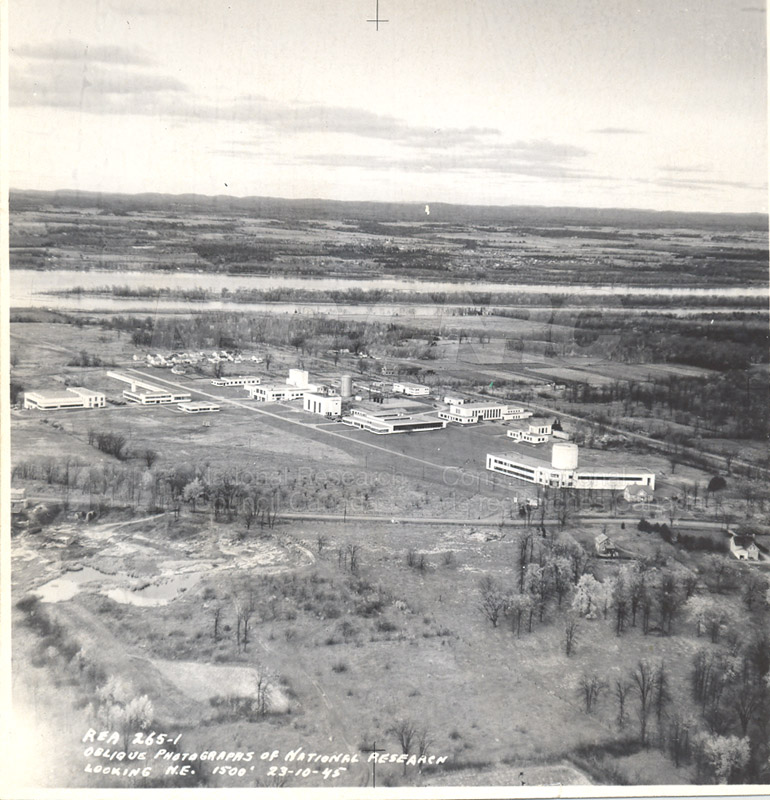 Montreal Road Campus Aerial View 1960's 006