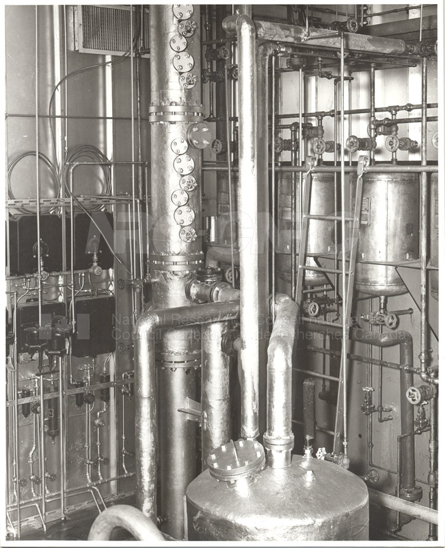 8'' Bubble Cap Distillation Column 1951