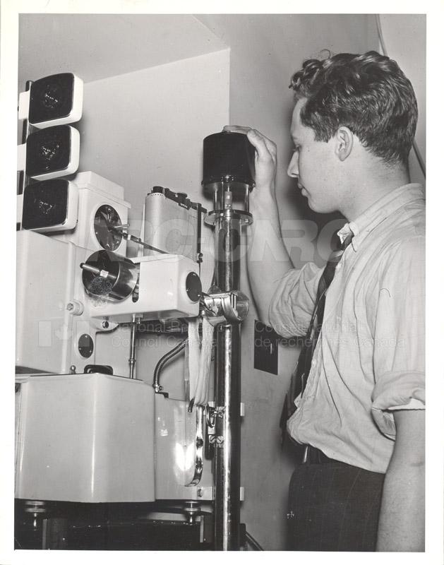 Dough Testing Machine- Kassian Klynke- Lab technician 1930s 001