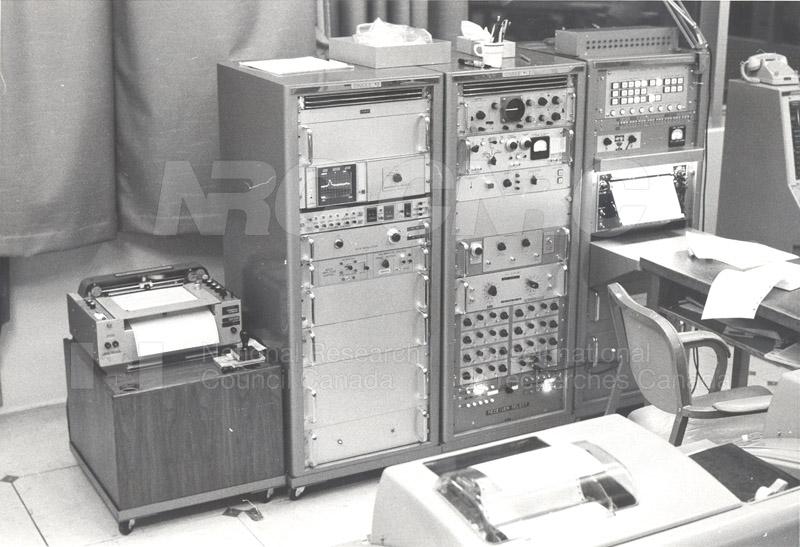 Astrophysics- Receiver Control Console c.1969