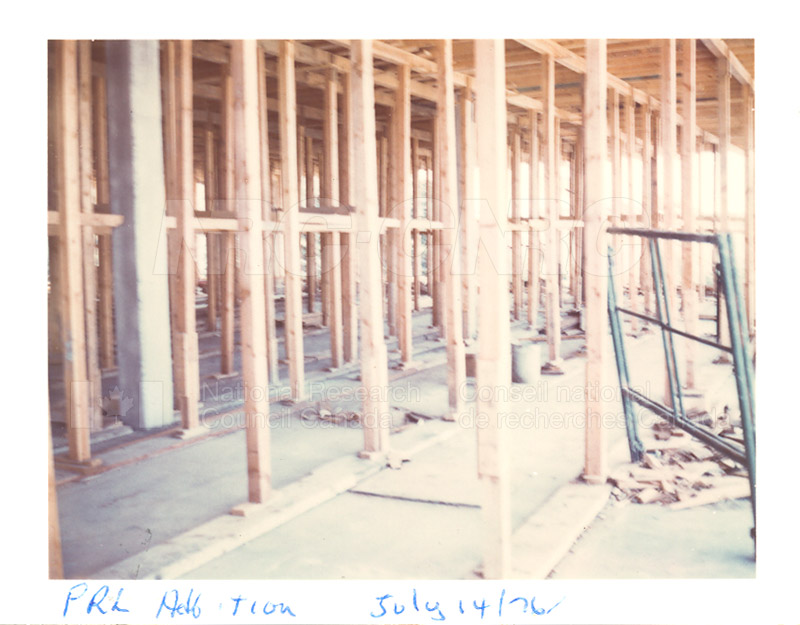 Building the Addition 1976 008