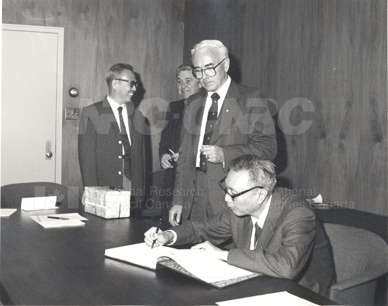 Visit to Canada of a Delegation from the Chinese Academy of Sciences April 28-May 11 1983 007