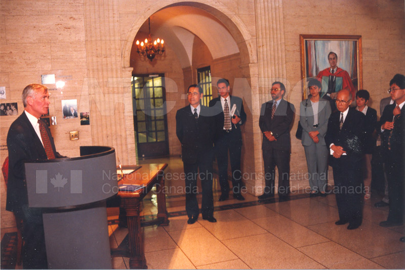 Agreement Signing RIKEN 23 Sept. 1997 006