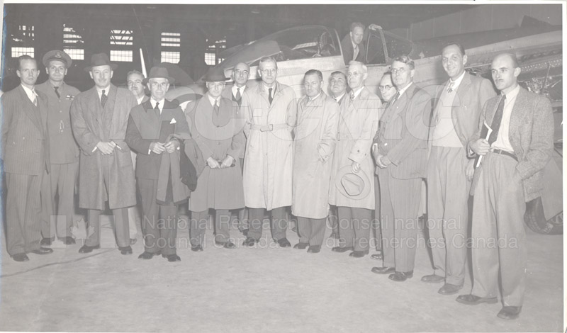 NRC Review CTTEE Visit to Flight Research Section, Arnprior 1949