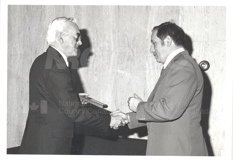 25 Year Service Plaques Presentations 1981 054