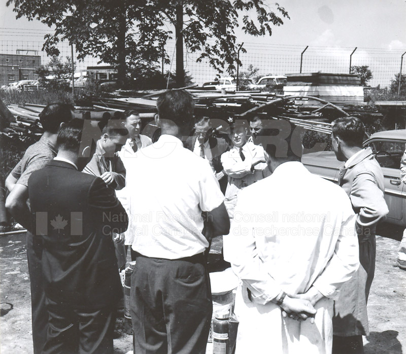 Fire Prevention Section Activities (Mr. Luke) 1950s+60s 003