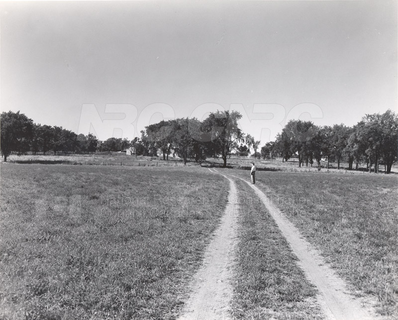 Site of Radio & E.E. Building (M-50) Before Construction- Mtl. Rd. Campus 002