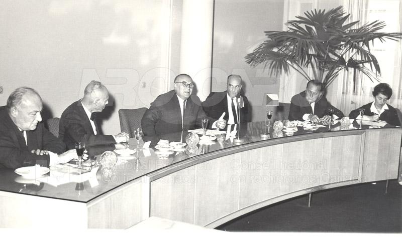 Academy of Science- Dr. Ballard and Dr. Jaroslavkozenik, Czechoslovakia 1966 002