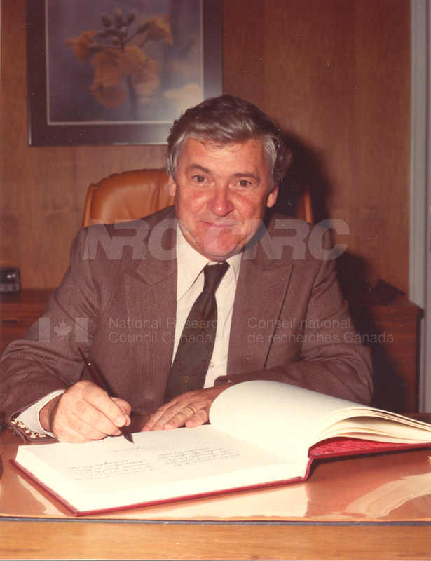 Visit of Ambassador of Brazil 1983 003