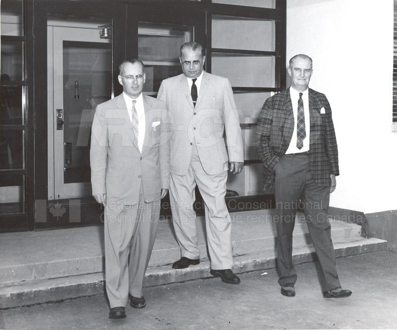 Premier W. Shaw Attorney-General PEI & Col. J.A. MacDonald M.P. 1960 002