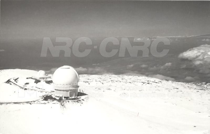 Canada France Hawaii Telescope Mauna Kea 1979