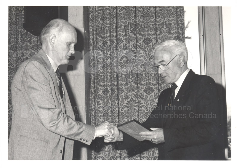 25 Year Service Presentations Nov. 1985 011