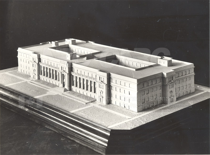 100 Sussex Drive Architects Model 1930 001