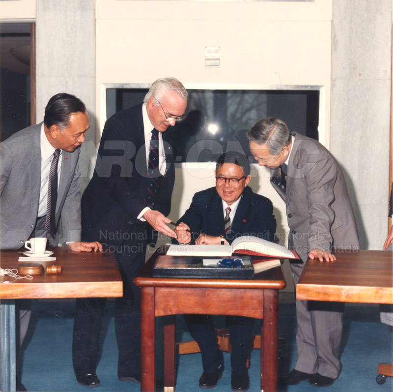 State Science and Technology Commission from China 25 April, 1985 010