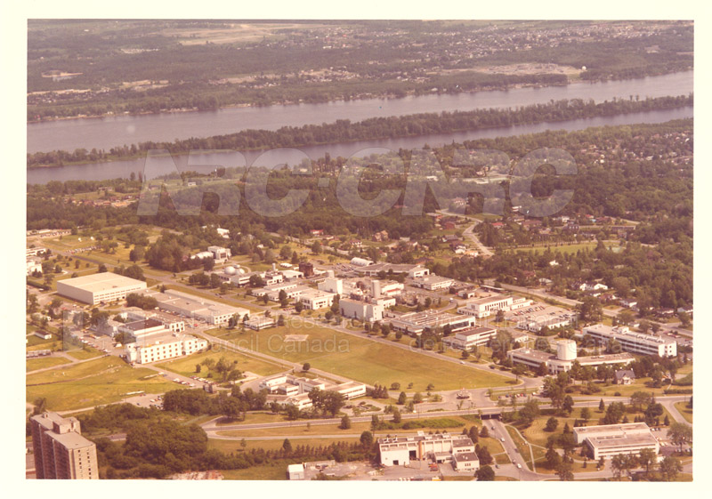 Montreal Road Campus Aerial View 1960's 010