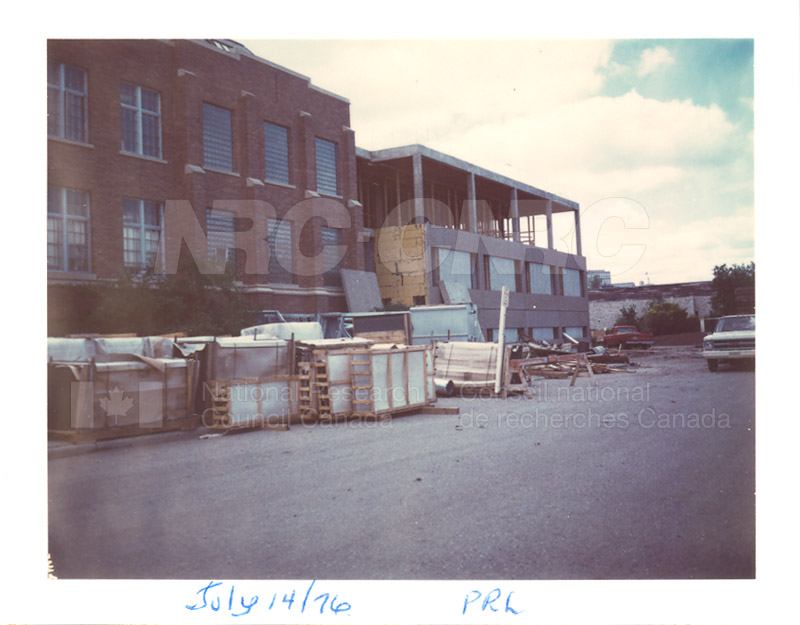 Building the Addition 1976 004