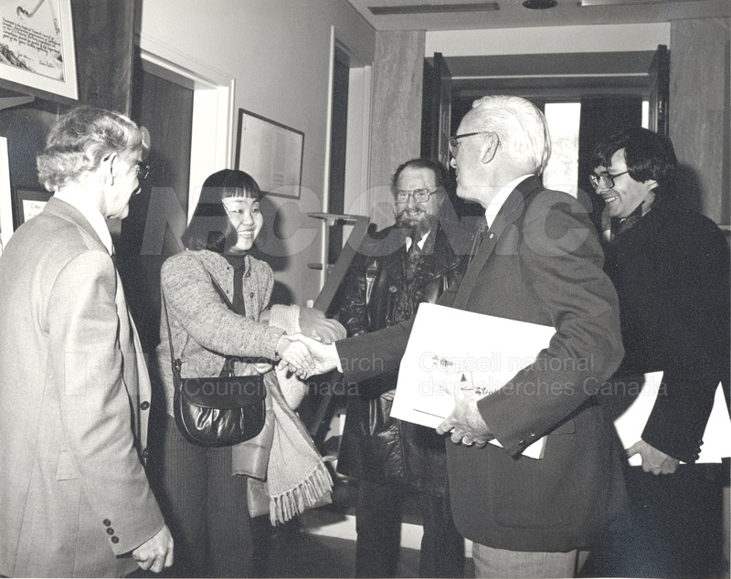 Visit of a Survey Mission from the Council of Science and Tech. Japan 1983 001