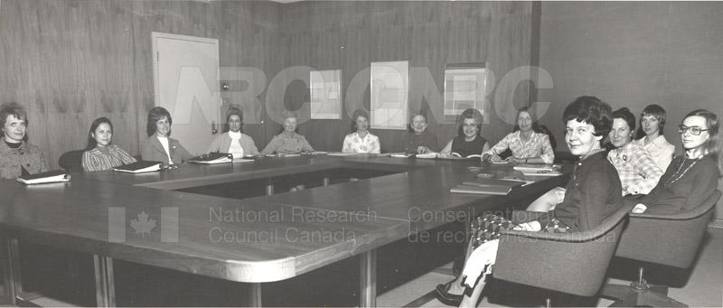 NRC Status of Women Committee c.1974